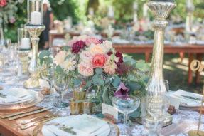healdsburg country gardens wedding