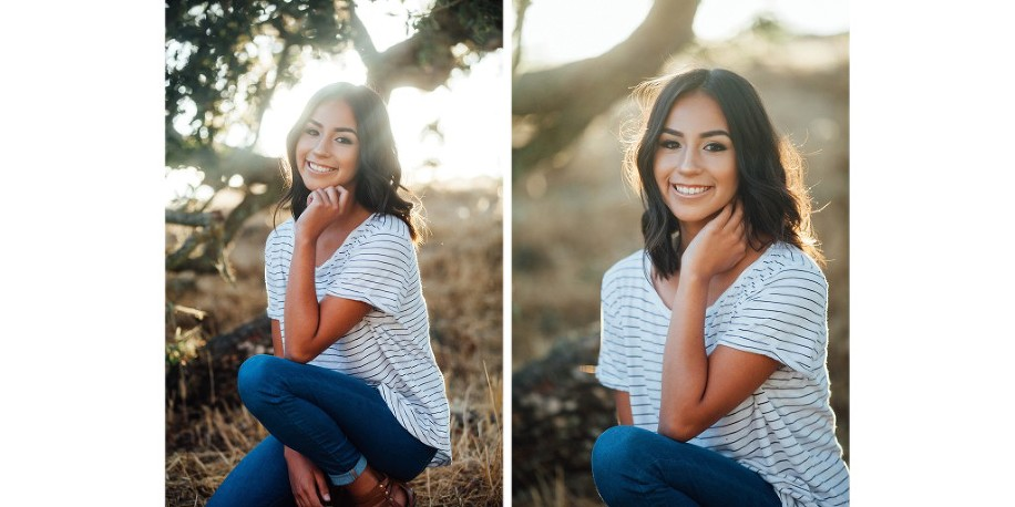 Healdsburg High School Senior Portrait by Kimberly Macdonald Photography