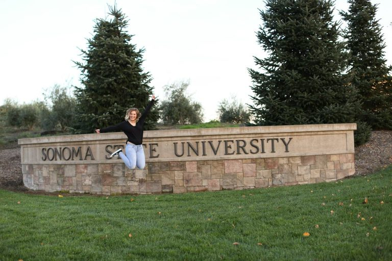 Sonoma State University Senior Portrait {Ebony Fall Senior